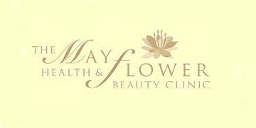 The Mayflower Health and Beauty logo