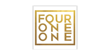 Four One One Salon logo