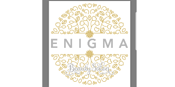 Enigma Beauty salon  logo